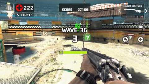 Dead Trigger 2. 43 waves - African Tribal Tour Coach & Area-51 Guns