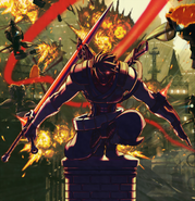 Strider - Strider Hiryu as seen in the Reboot Poster