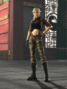 Mortal Kombat - Sonya Blade as she appears in Shaolin Monks