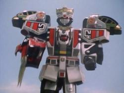 Power Rangers - Mega White Tigerzord