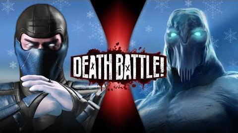 Sub-Zero VS Glacius DEATH BATTLE!