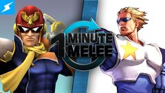 One Minute Melee Captain Falcon vs Captain Commando