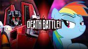 Starscream VS Rainbow Dash