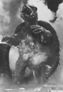 Gamera as he appears in the 1965 film