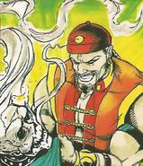 Mortal Kombat - Shang Tsung sucking the soul out of his victim