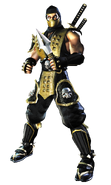 Mortal Kombat - Scorpion as he appears in Mortal Kombat Deadly Alliance