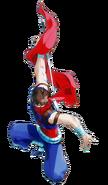 Strider - Strider Hiryu as seen in Marvel vs Capcom