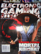 Mortal Kombat - Raiden as he appears on the front cover of Electronic Gaming