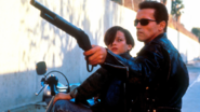 The Terminator - Terminator and John Conner as seen in the second movie