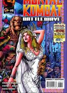Mortal Kombat - Shao Kahn and Sonya Blade as seen on Mortal Kombat Battlewave Issue 6