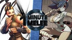 One Minute Melee Ibuki vs Valentine