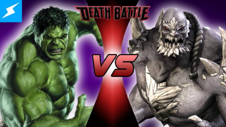 Image - Hulk VS Doomsday V2.png | DEATH BATTLE Wiki ... Doomsday Vs Hulk Death Battle