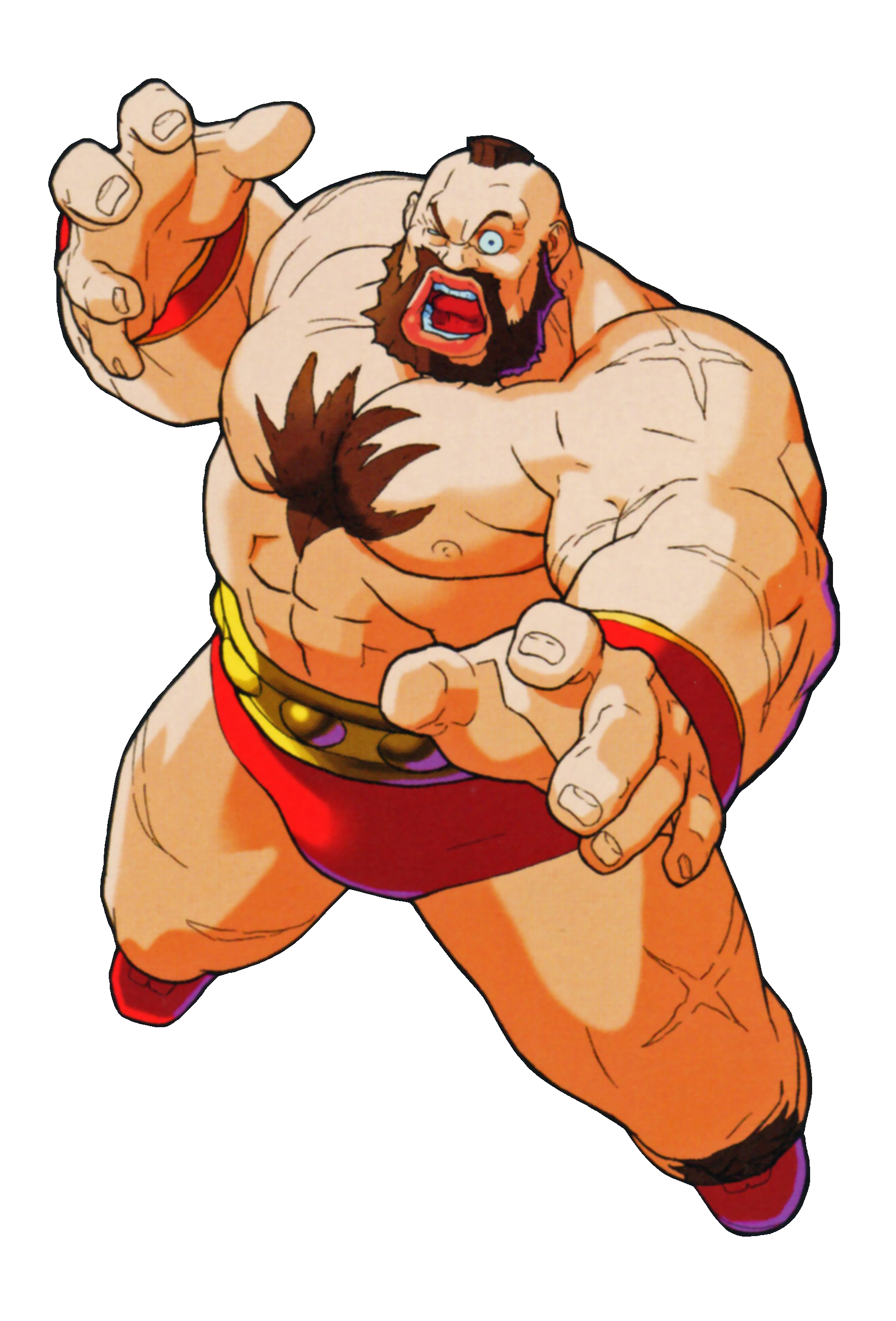 Image Street Fighter Zangief As He Appears In Marvel