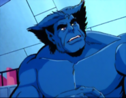 Marvel Comics - Beast as he appears in the 1990s X-Men Cartoon