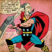 Marvel Comics - Thor as seen in the retro comics