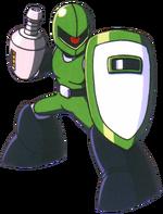 Mega Man Classic - Sniper Joe