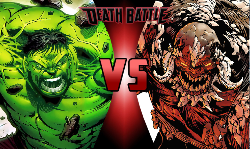 Image - Hulk vs Doomsday 2.jpg | DEATH BATTLE Wiki ...Doomsday Vs Hulk