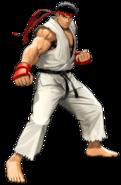 Street Fighter - Ryu as he appears in Tatsunoko VS Capcom