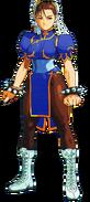 Street Fighter - Chun-Li as seen in X-Men vs Street Fighter