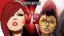 Black Widow VS Crimson Viper