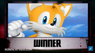 Tails wins