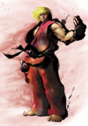 Street Fighter - Ken Masters taunting as seen in Street Fighter IV