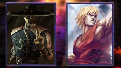 Kung Lao and Ken are ready