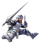 Ghosts 'n Goblins - Sir Arthur as he appears in Namco × Capcom