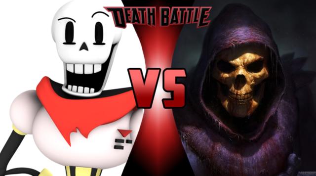 Image - Papyrus vs Skeletor 2.PNG | Death Battle Fanon ...