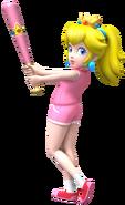 Super Mario Brothers - Princess Peach when playing baseball