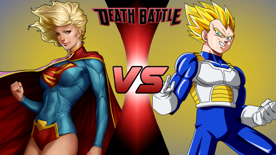 Image - Supergirl VS Vegeta (by DoomFest).png | Death ...