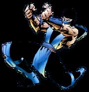 Mortal Kombat - Sub-Zero's Official MKII Promo Art by Patrick Rolo