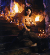 Mortal Kombat - Liu Kang played by Robin Shou in the Mortal Kombat movie