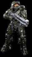 Halo - Master Chief with Railgun
