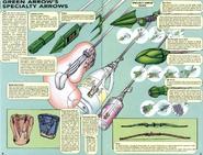 DC Comics - Green Arrow's Specialty Arrows