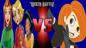 Totally Spies vs. Kim Possible - Ganime