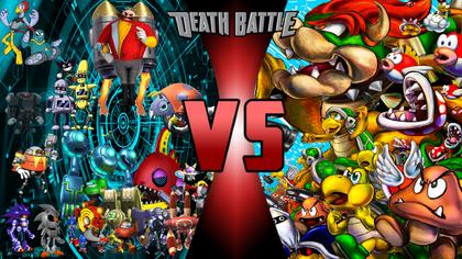 Eggman VS Bowser