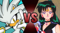 Silver the Hedgehog vs Sailor Pluto