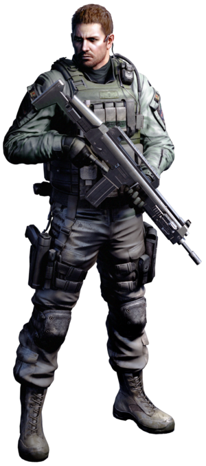 Chris redfield render re6 by ninaxleon-d4ym61y