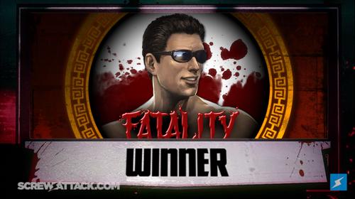 Johnny Cage Winner