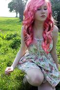Pink hair by natmorley-d4cxw49