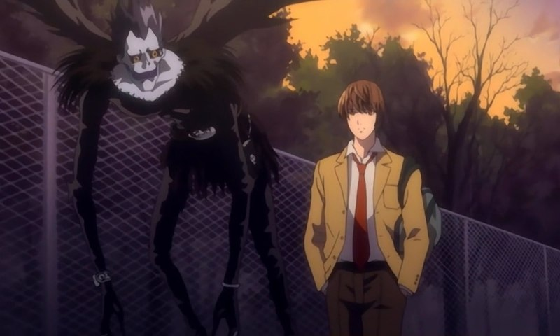 Image result for ryuk and light