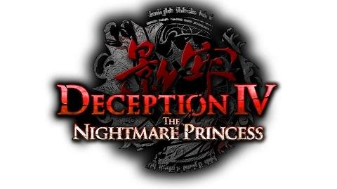 DECEPTION IV THE NIGHTMARE PRINCESS - LIVE ACTION ANNOUNCEMENT TRAILER