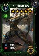 Sagittarius creature card