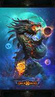 Azure dragon large