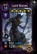Lord bones creature card