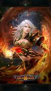 Flame Brave backdrop