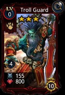 Troll Guard creature card new