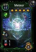 Meteor skill card