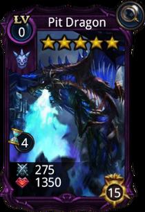 Pit Dragon Creature card